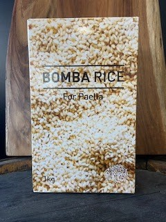 Bomb a rice( paella rice)